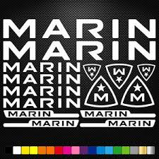 Compatible Marin Stickers Sticker Set Decal Decal Bicycle Bike Bmx Road Ebay