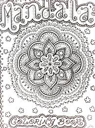 Mandala Abstract Doodle Zentangle Coloring Pages Colouring Adult