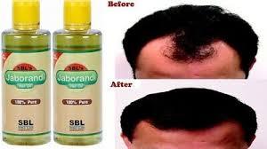 sbl pure jaborandi homeopathy hair oil