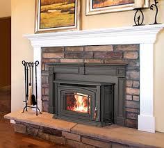 wood burning fireplace inserts wood