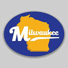 Amazon Com Jb Print Milwaukee Wisconsin Oval Vinyl Purple City Town College University Vinyl Decal Sticker Car Waterproof Car Decal Bumper Sticker 5 Kitchen Dining