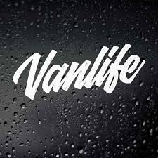 Black Silver Vanlife Car Sticker Vinyl Car Body Stickers Window Door Decal Funny Top Quality Waterproof S545 Car Stickers Aliexpress