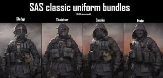 SAS classic uniform bundles concept ...