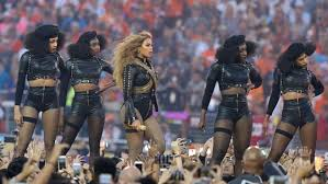 Image result for beyonce super bowl halftime show