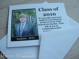 diy graduation invitation cards