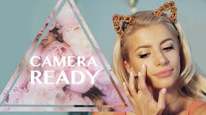 camera ready makeup routine you