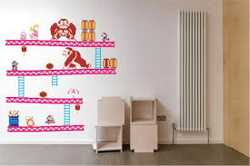 Donkey Kong Decal Nintendo Wall Decal Donkey Kong Sticker Etsy