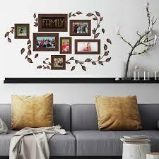 Roommates Peel And Stick Decor Wall Decals Family Frames 50 Pieces Walmart Com Walmart Com