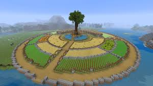 What Do You Guys Think Of My Crop Circle Minecraft