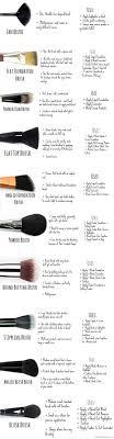 proper way to use makeup brushes