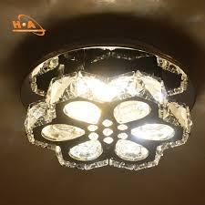 mounted modern chandelier crystals