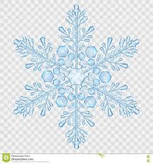 Big Translucent Crystal Snowflake Stock ...