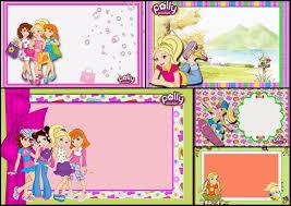 Polly Pocket Invitaciones Para Imprimir Gratis Invitaciones