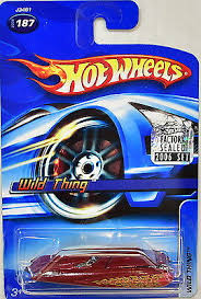Hot Wheels 2006 Wild Thing 187 Red Factory Sealed Ebay
