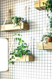 indoor wall garden vertical view
