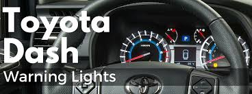 toyota dashboard lights and symbols