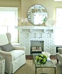 mirror above fireplace ideas tiguend info