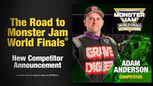 Adam Anderson Joins World Finals Field | Monster Jam