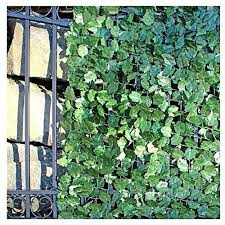 Aleko Scrn94x39indg Faux Ivy Privacy Fence Screen Artificial Hedge Vine Mesh