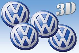 Volkswagen 3d Car Decals For Wheel Center Caps Online Shop 3d Wheel Center Caps