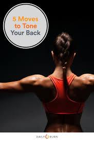 5 no equipment back exercises daily burn