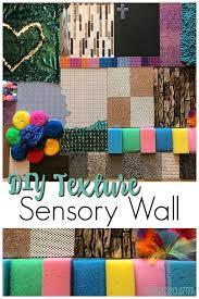 diy sensory wall inexpensive and easy