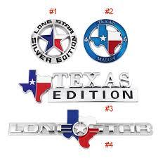 Texas Flag Edition Badge Emblem Truck Tailgate Sticker Decal Metal Chrome Oem Ebay