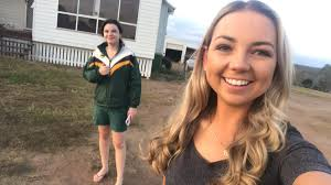 """Brittany Graham on Twitter: """"*Payback for Saturday nights footage* I  dragged the little sister out from her afternoon siesta to come for a quick  walk - what a glamour she is 😆💁🏼♀️"""