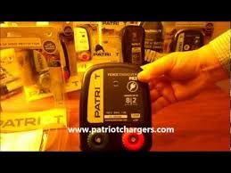 Patriot Pe2 110 120v Ac Powered Electric Fence Charger Energizer 2miles 8acres Youtube