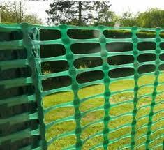 Green Plastic Barrier Garden Fencing 1m X 25m Plant Animal Safety Fence Roll Ebay
