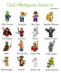 First Look At The Characters From Lego Minifigures Series 13 Jay S Brick Blog