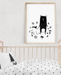 Woodland Creatures Art Kids Room Decor Animal Prints Etsy Scandinavian Kids Rooms Scandinavian Kids Kid Room Decor