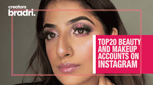 makeup and beauty accounts on insram