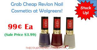revlon nail cosmetics at walgreens