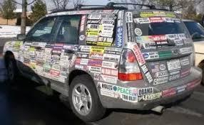 Do Bumper Stickers Damage Car Paint Quora