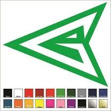 Green Arrow Vinyl Decal Sticker Choose Color Size Dc Justice League Cw Ebay
