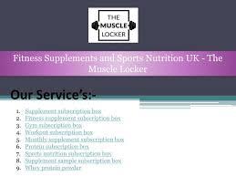 supplements and sports nutrition uk