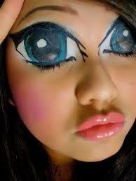 manga or anime makeup tips and