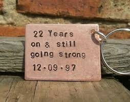 copper gifts husband wife personalised