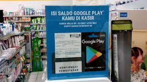 voucher google play hadir di indomaret