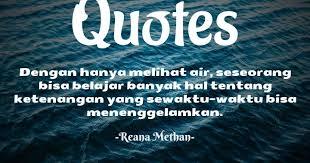 quotes tentang air dan kehidupan keren untuk renungan writer land