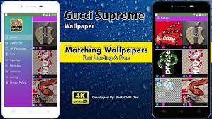 ดาวน โหลด gucci supreme wallpaper apk