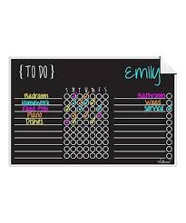 Ala Board Black Dry Erase Chore Chart Wall Decal Best Price And Reviews Zulily