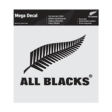 All Blacks Fern Mega Decal Black All Blacks Shop