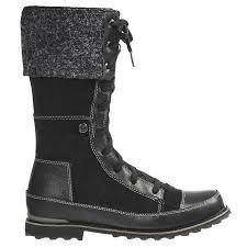 snowtropolis lace leather boots