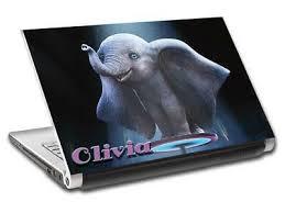Dumbo Personalized Laptop Skin Cover Decal Sticker Flying Elephant Disney L835 Ebay