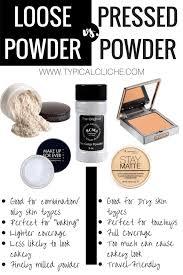 loose powder vs pressed powder oily