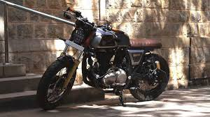 modified royal enfield continental gt