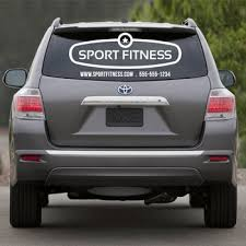 Large Custom Printed Vehicle Business Logo Decals Wall Decor Stickers