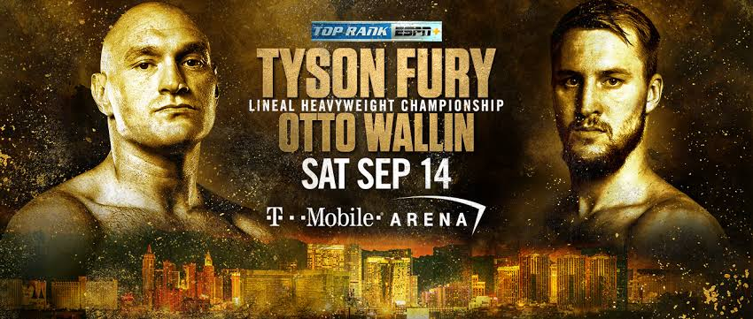Watch Boxing Fury Vs Wallin 2019 2019 9/14/19